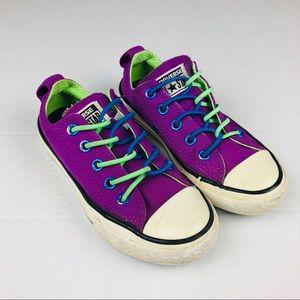 Converse Slip On Purple Sneakers Size 11